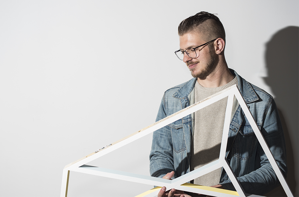 Nick Hullibarger talks budgeting, being your own advocate, and finding creative mentors.