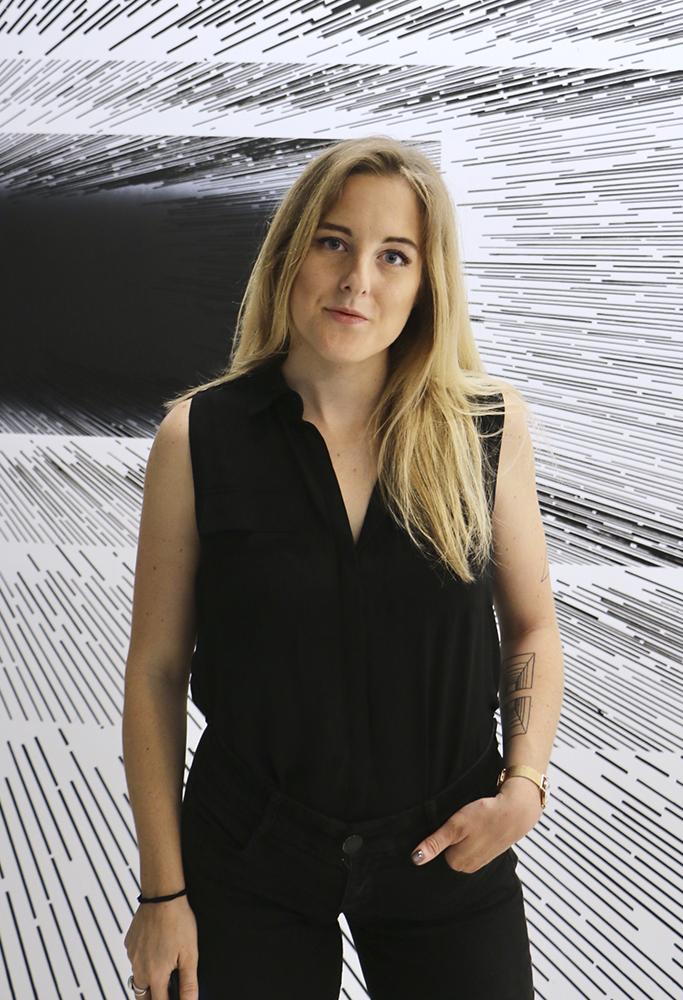 Katy Ann Gilmore talks pursuing art full-time, taking practical risks, and studio organization.