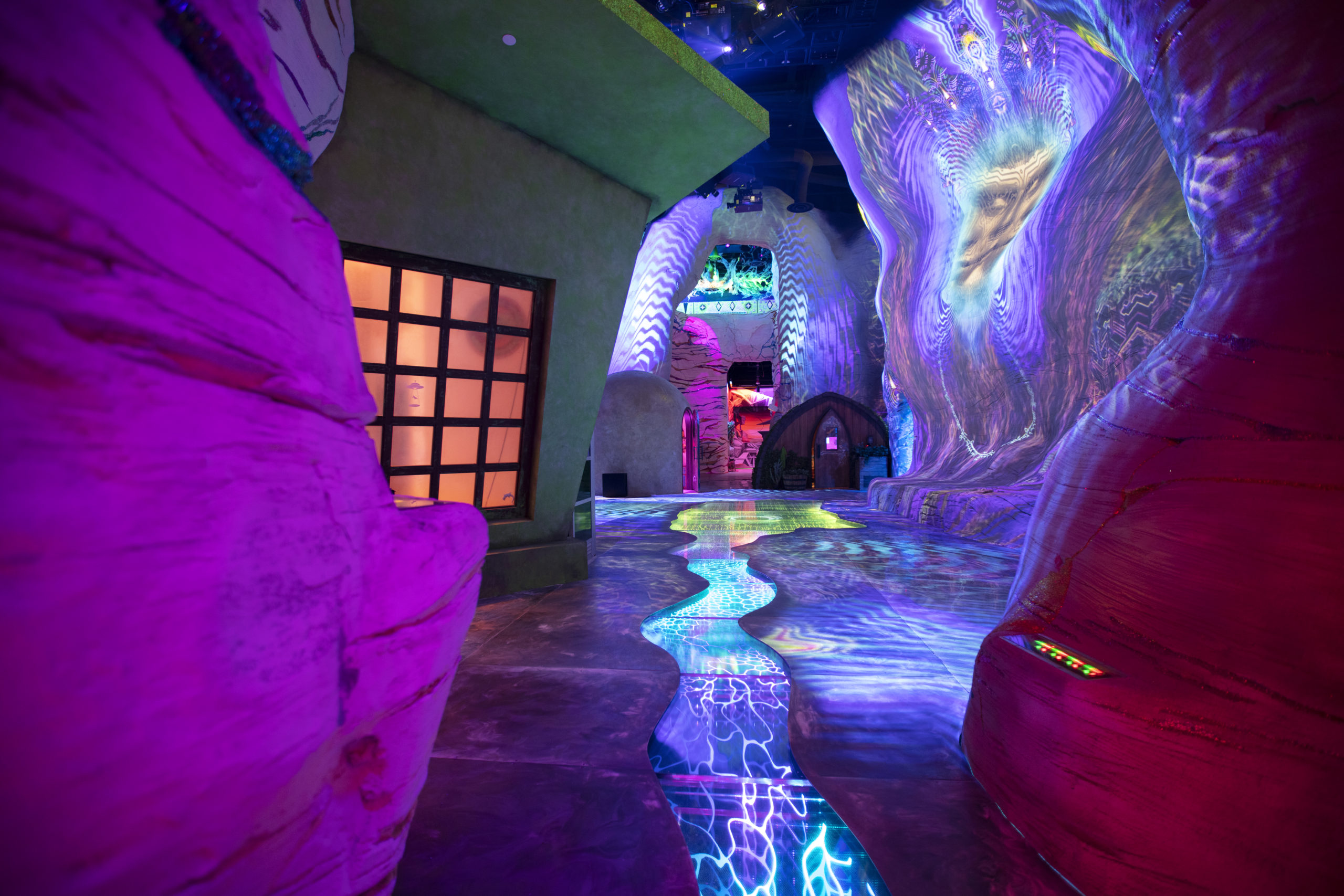 The Meow Wolf Las Vegas exhibit coming to completion in January of 2021